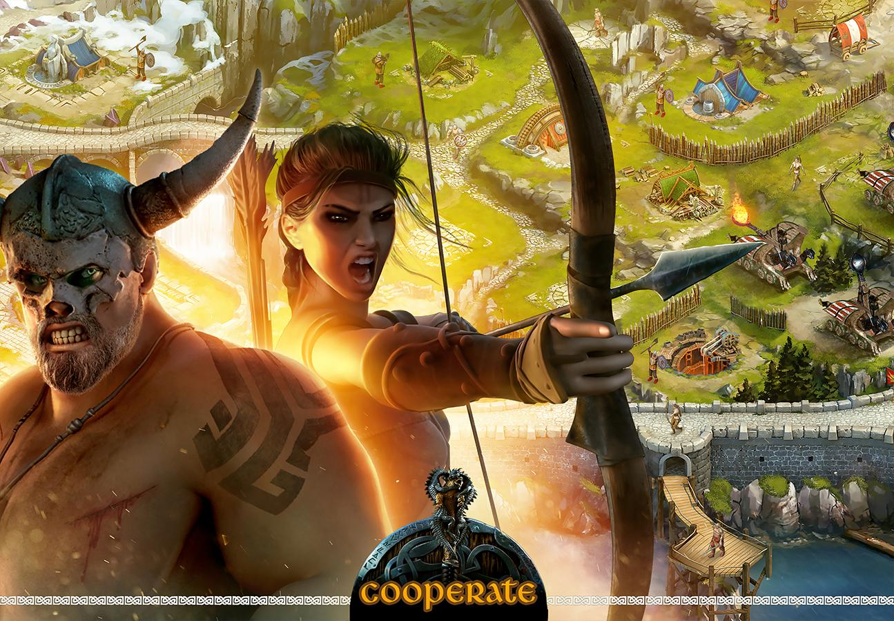 Apk mod Vikings War of Clans на