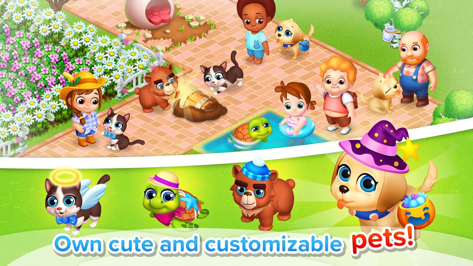 download game family farm mod apk