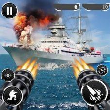 Navy Gunner Shoot War 3D