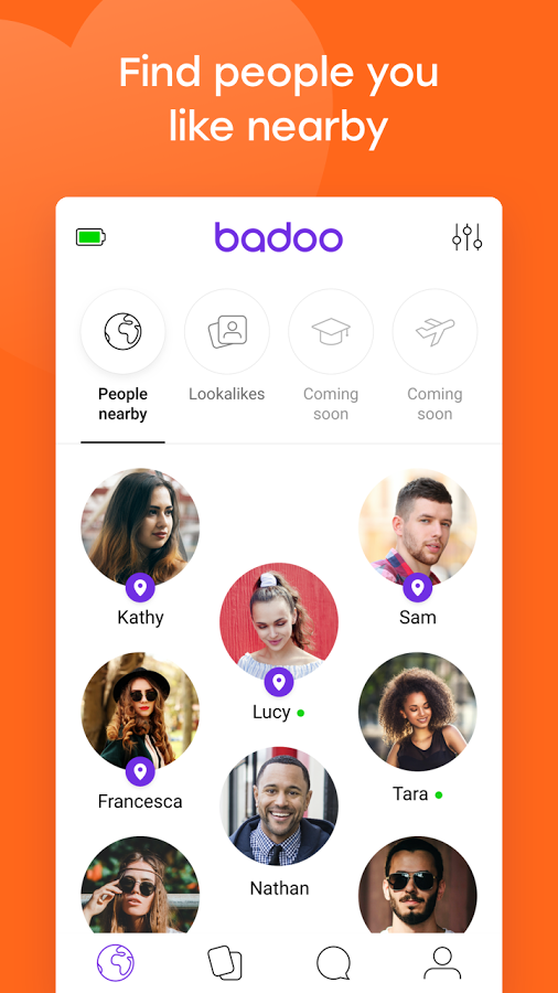 Free dating apps like badoo