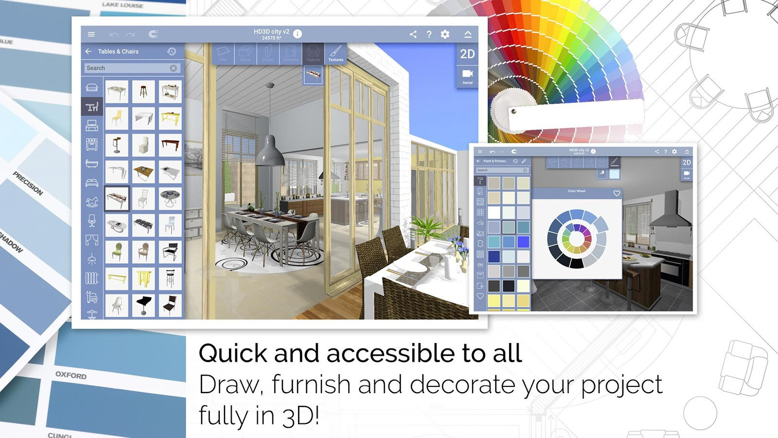 Home Design 3D Apk Mod V4.1.2 Unlock All • Android • Real