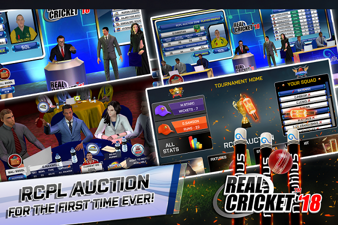 Real Cricket 18 Apk Mod v1 2 Unlockl All • Android • Real