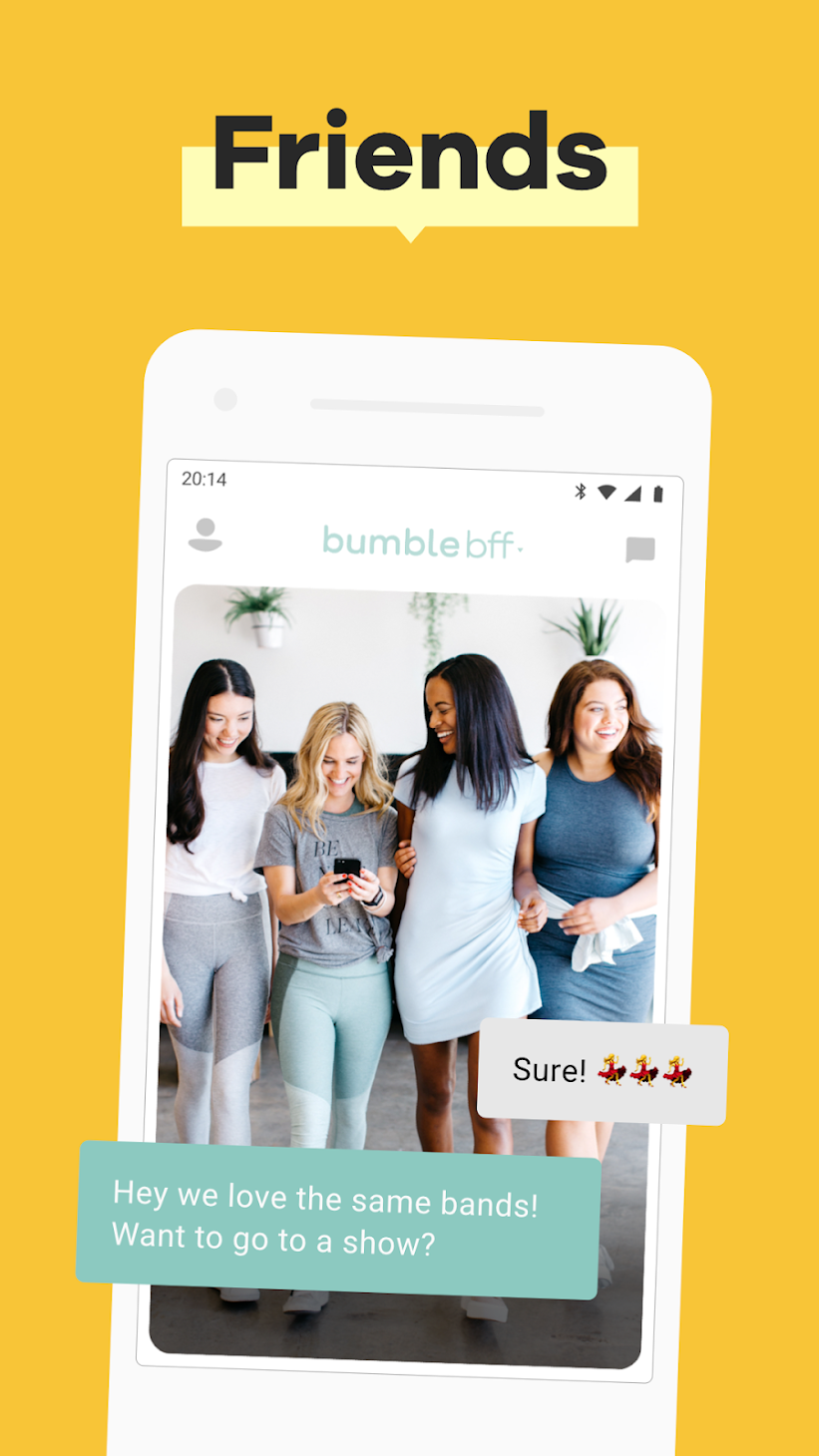 dating apps for meeting friends only