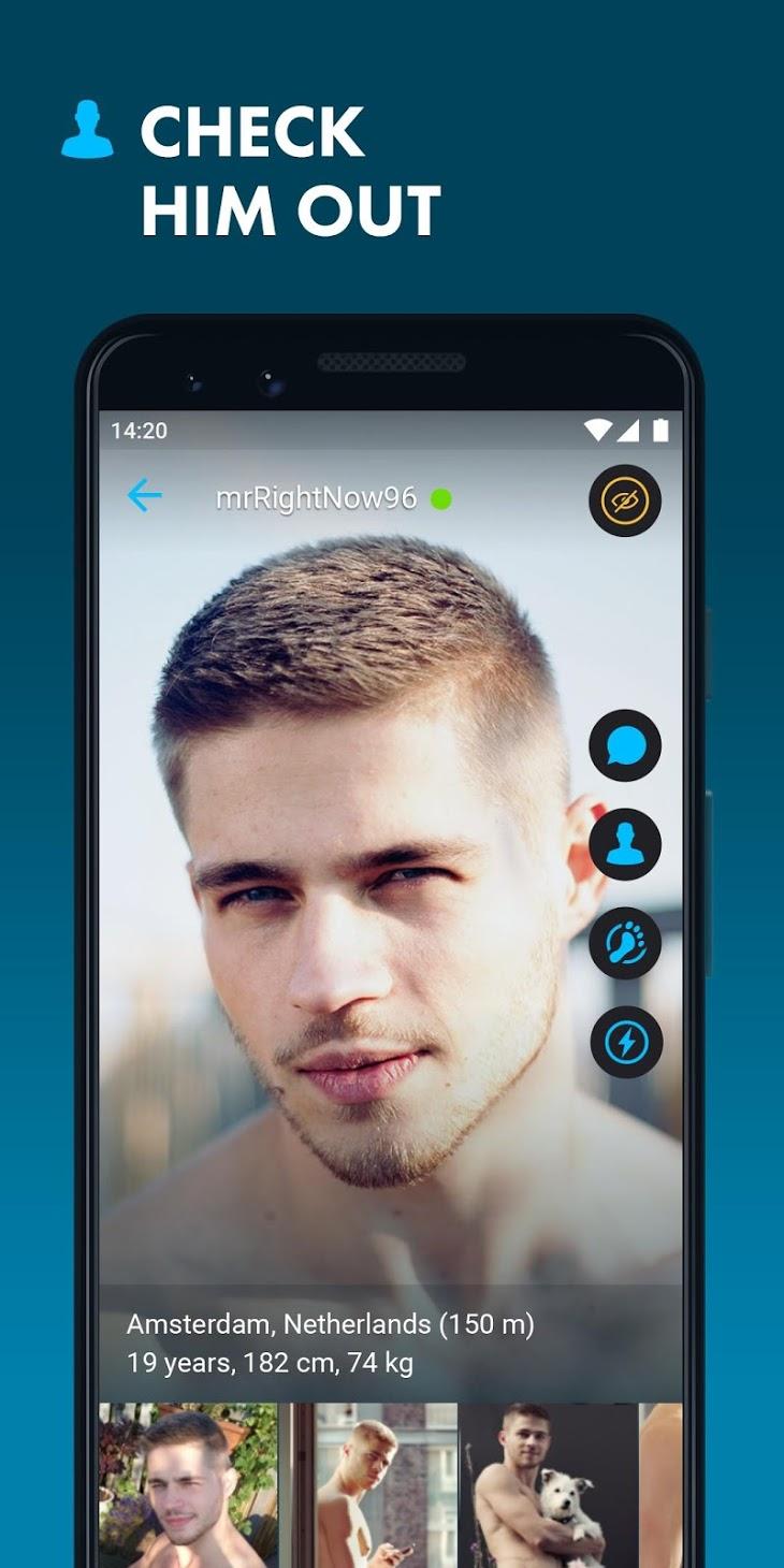 ROMEO Gay Chat Dating app analytics ROMEO Gay